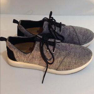 a8ee381e172 Toms Shoes - TOMS Grey Diamond Melange Del Rey Sneakers 8